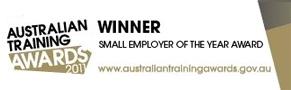 Small Employer of the Year Award - Australian Training Awards 2011